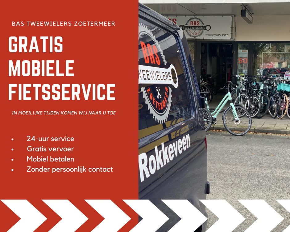 Bas tweewielers fietsservice