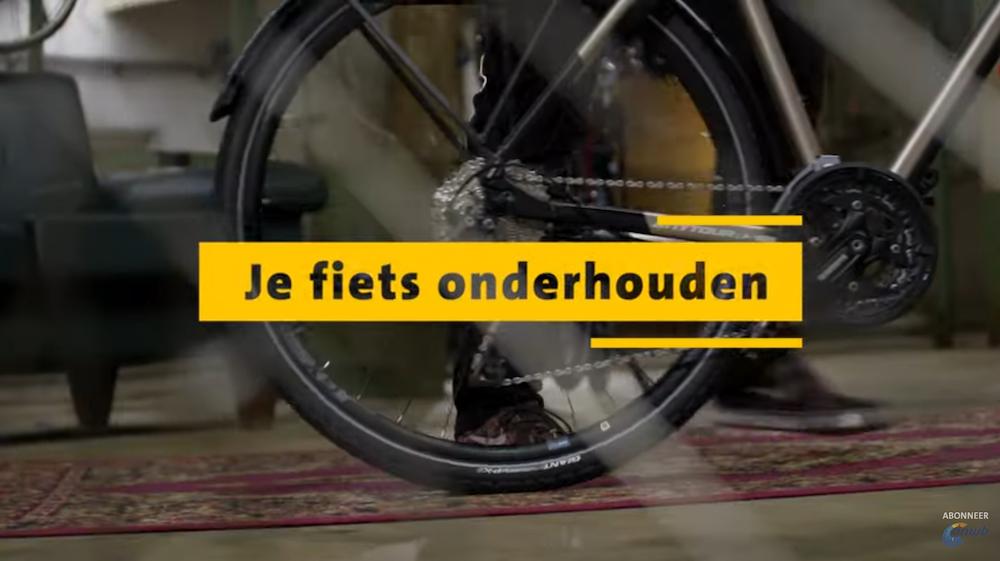 zo onderhoudt u zelf uw fiets