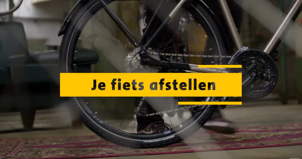 ANWB fiets afstellen