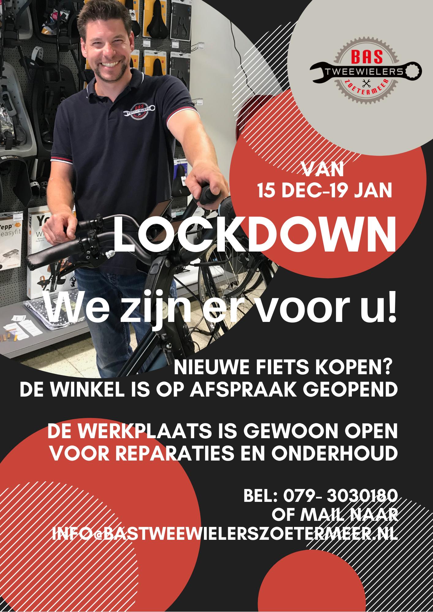 lockdown openingstijden