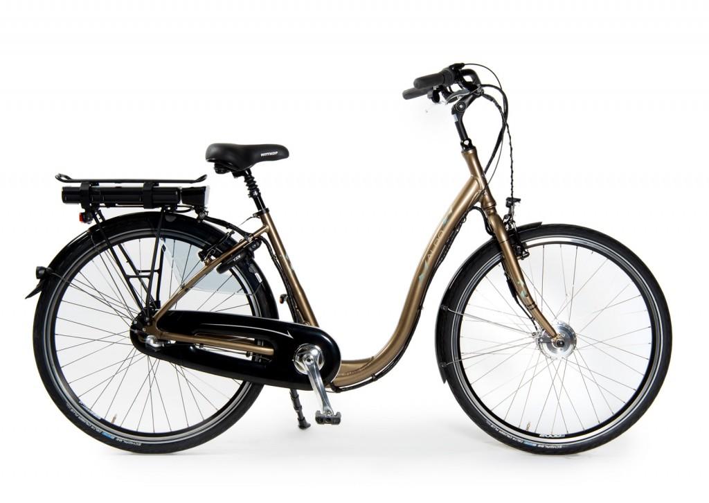 Aldo fiets lage instap