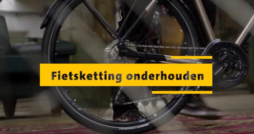 Hoe vaak moet je de fietsketting smeren?