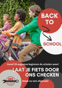 Back to school Bas Tweewielers Zoetermeer